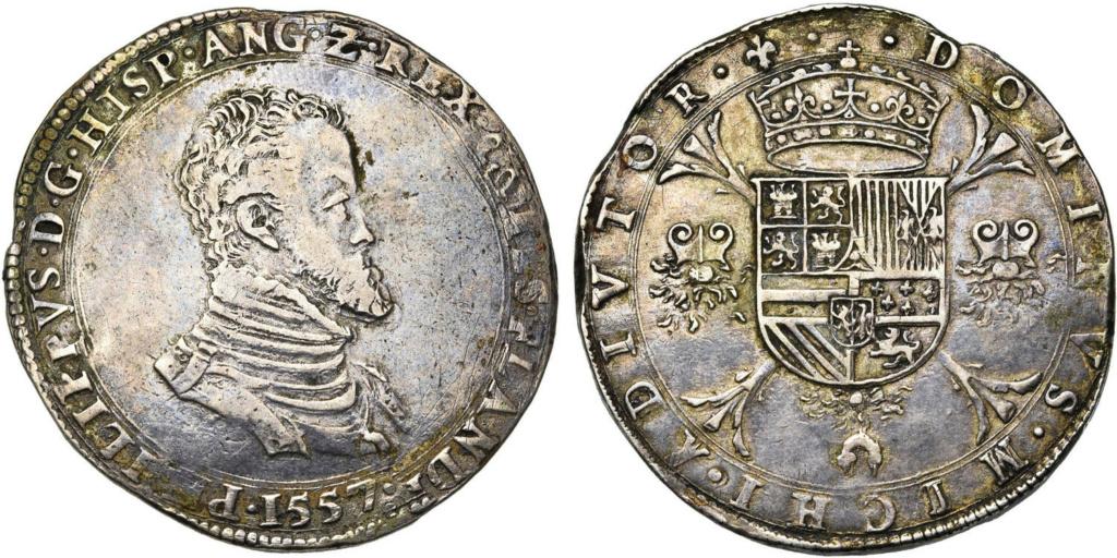 Escudo Felipe o Filipusdaalder Brujas (Flandes) 1557 Escudo19
