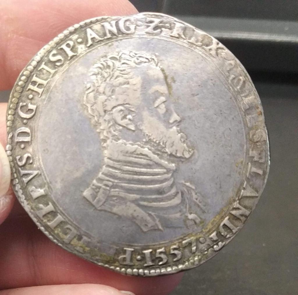 Escudo Felipe o Filipusdaalder Brujas (Flandes) 1557 Escudo20