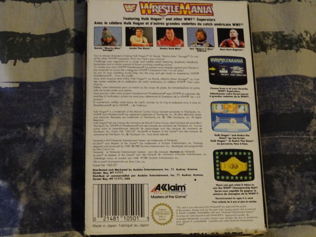 NOUVEAUX ARRIVAGES-Endo's Exposition-Ma collec' de Jeux Vidéos ! - Page 2 Dsc01053