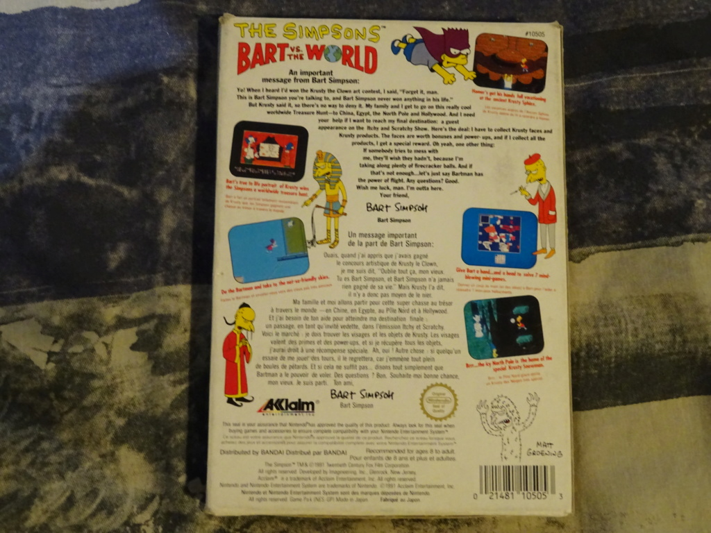 NOUVEAUX ARRIVAGES-Endo's Exposition-Ma collec' de Jeux Vidéos ! - Page 2 Dsc01072