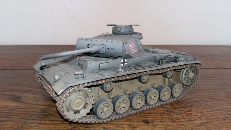 Panzer III Ausf L [Tamiya] 20190232