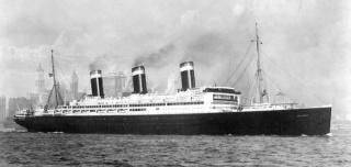 """Postgeschichte - Portodeklaration Bedarfsbrief befördert mit Schnellschiff SS"""" LEVIATHAN Ss_lev11"""