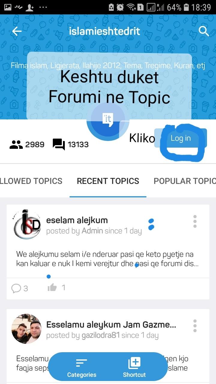 Si te regjistroheni ne Forum? 20190224