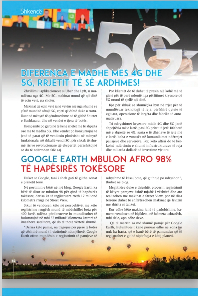[Teknologji the Shkence] Diference e madhe mes 4G dhe 5G rrjeti I se ardhmes 20200421