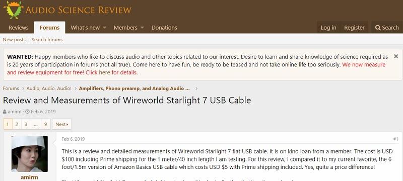 Impact des câbles USB ? - Page 4 Armin210