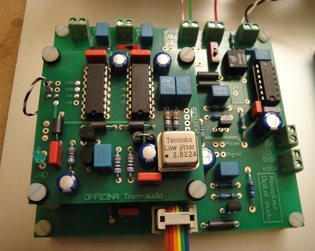 Module Reclocking pour DAC Clock_10