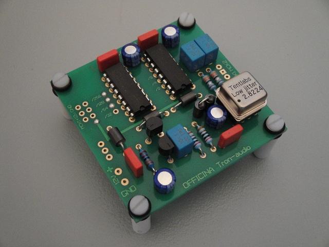 Module Reclocking pour DAC Clock_11
