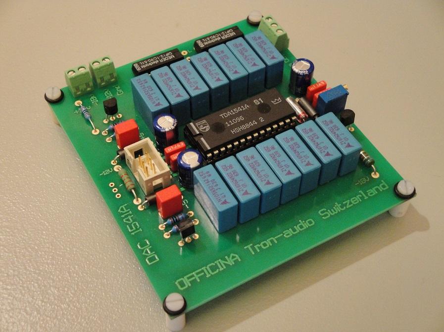 PCB TDA1541A Officina Tron-audio Dac_8910