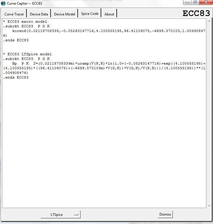 Compréhension des modèles PSPICE Ecranc11