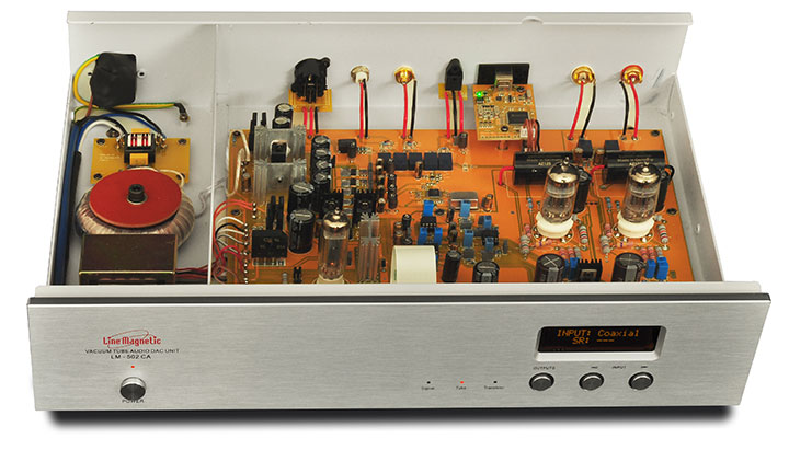Line Magnetic LM-502CA Dual output 32/192K Lm-72011
