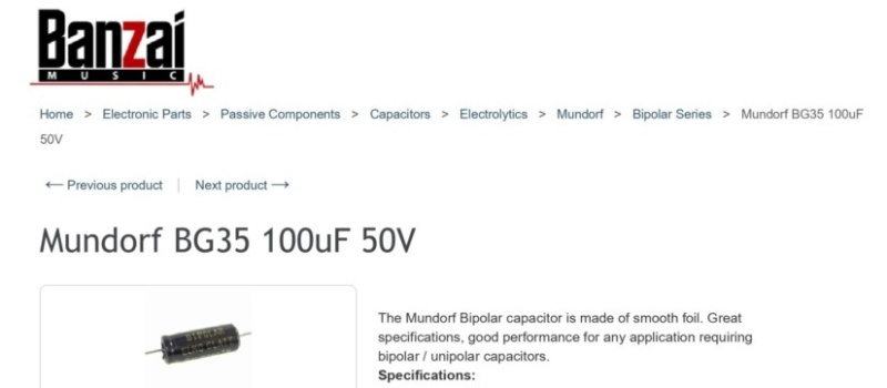 Quelle marque de condensateur choisir ? Mundor10
