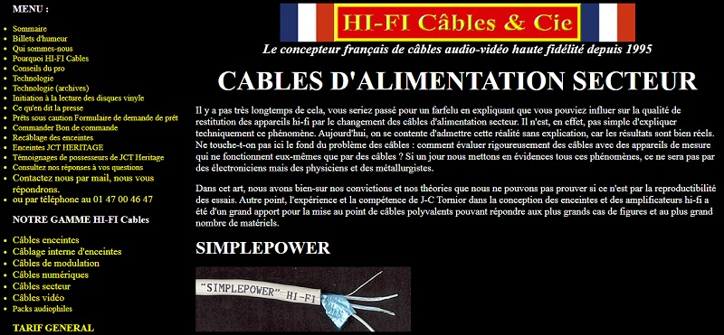 Câbles secteur - source, DAC - Page 2 Power210