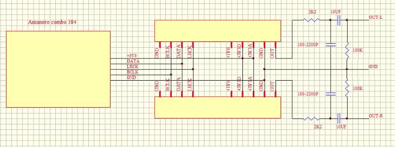 DAC DIY avec Module R2R 24Bit Usbdac10