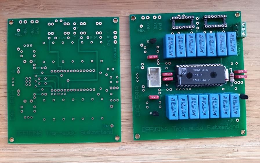 PCB TDA1541A Officina Tron-audio Vue_112