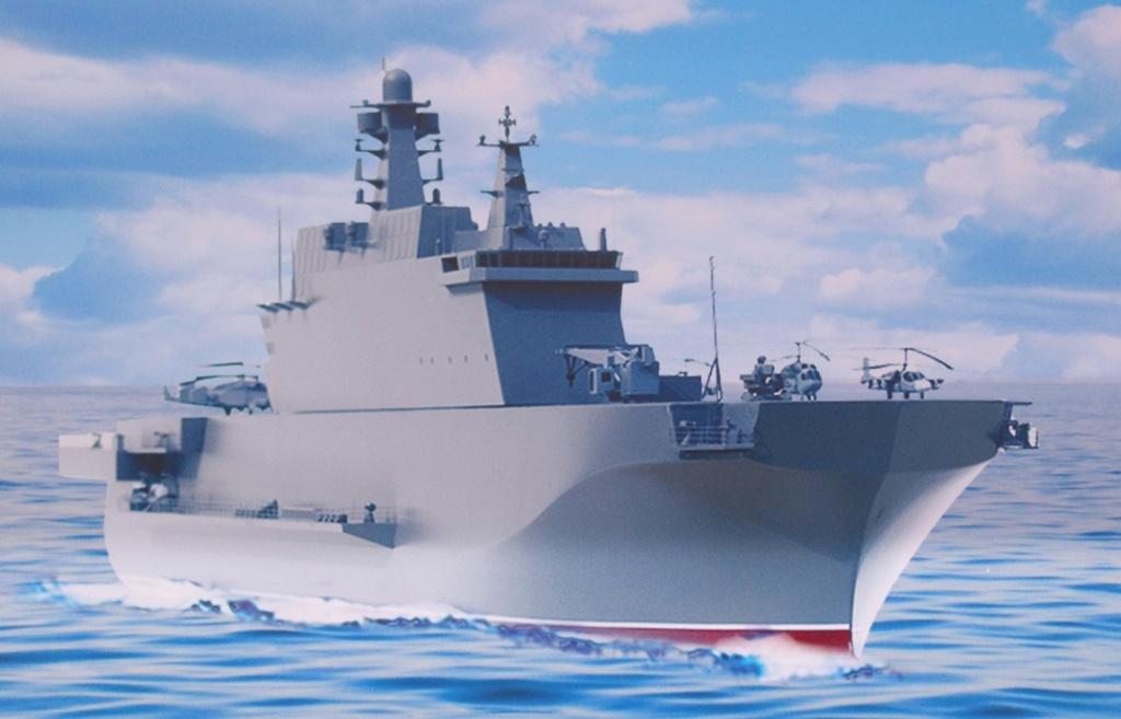 """Project 23900 """"Ivan Rogov"""" Amphibious assault ship - Page 10 26-98211"""