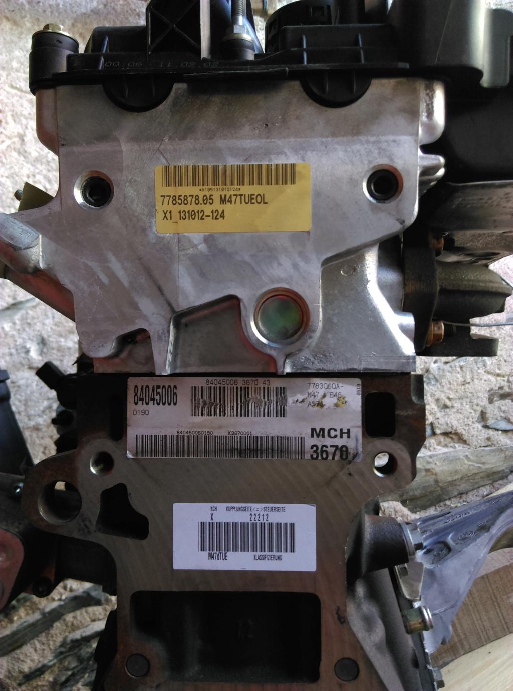 [ BMW E46 320d M47N an 2004 ] mode dégradé suite changement moteur. - Page 2 Imag0211