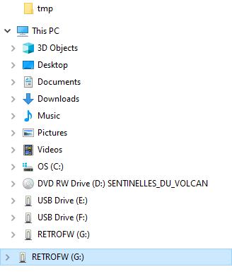 [Tuto]Installer RetroFW sur votre RS97 110