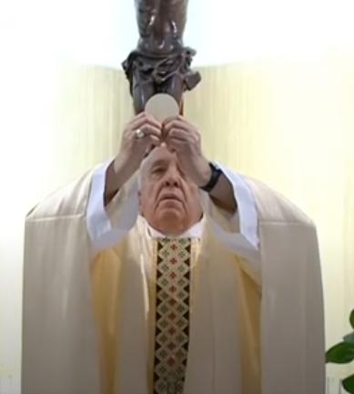 Messe quotidienne avec le pape François tous les jours en direct - Page 2 Aaaaaa33