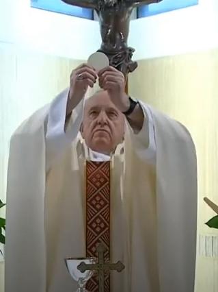 Messe quotidienne avec le pape François tous les jours en direct - Page 2 Aaaaaa45