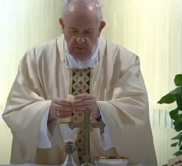 Messe quotidienne avec le pape François tous les jours en direct - Page 2 Aaaame19