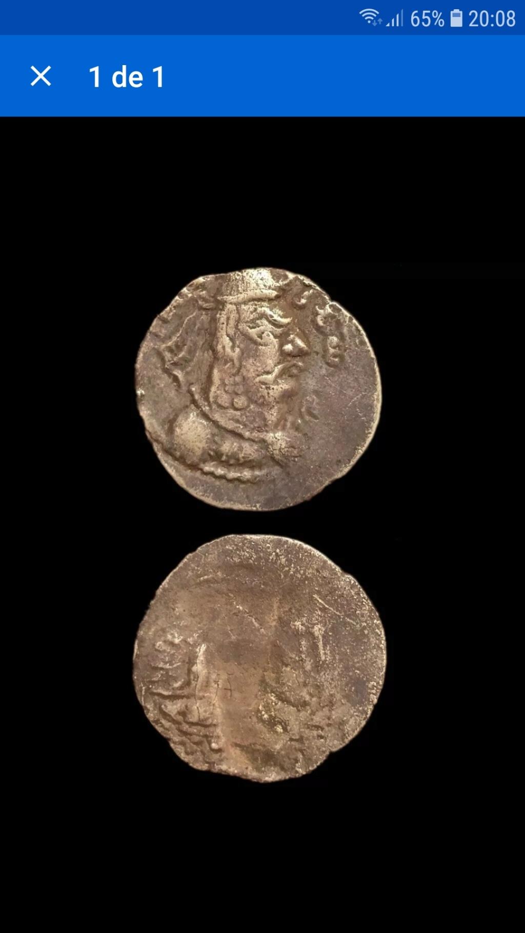 Moneda india sin identificar 20211