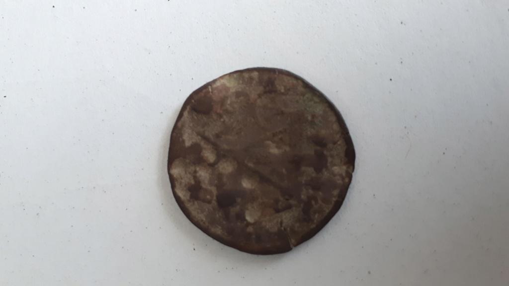Rara moneda medieval, Token o Bula Papal Moneda10