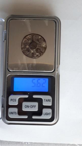 Rara moneda medieval, Token o Bula Papal Moneda12