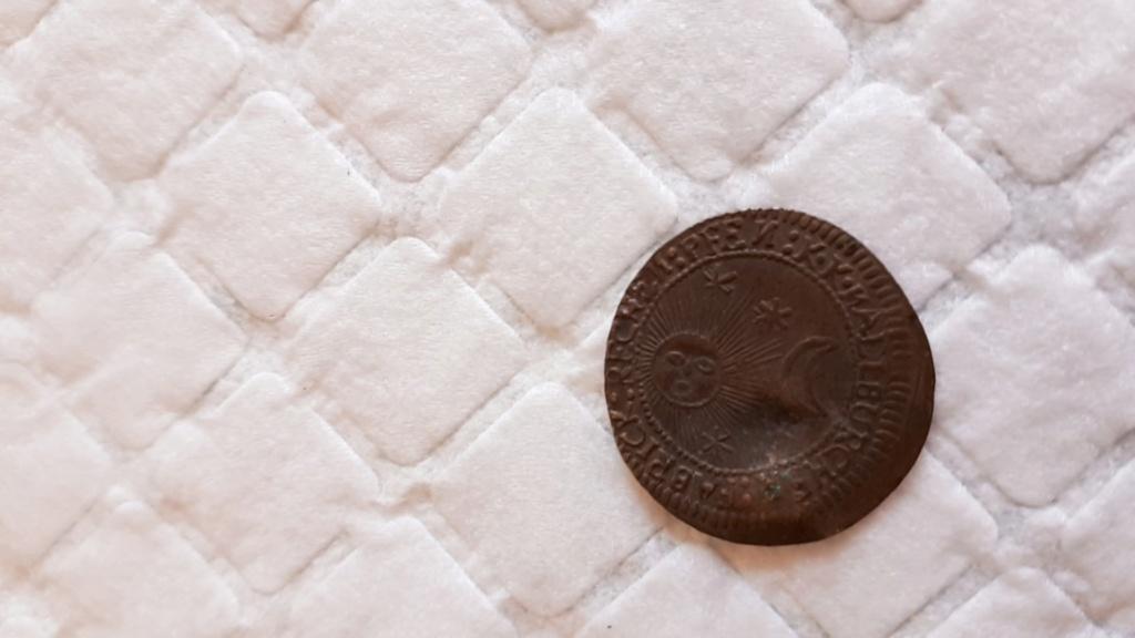 Raras monedas medievales. Creo que Alemanas Moneda17