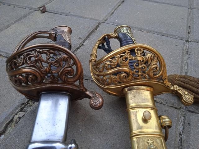 Le sabre est de fabrication belge. 16265910