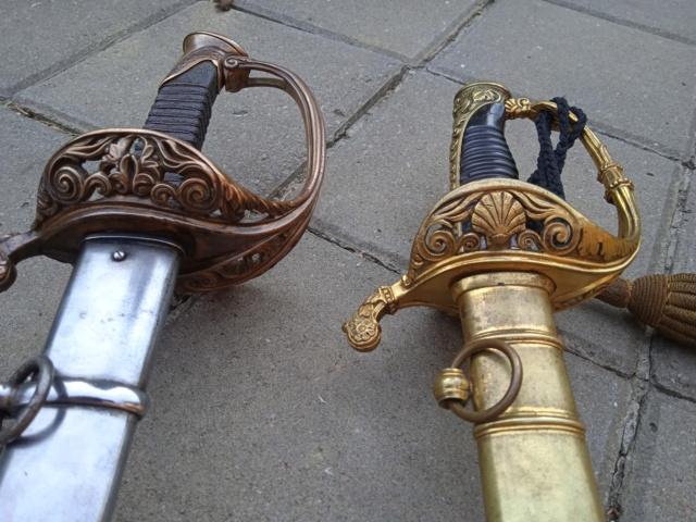 Le sabre est de fabrication belge. 16265911