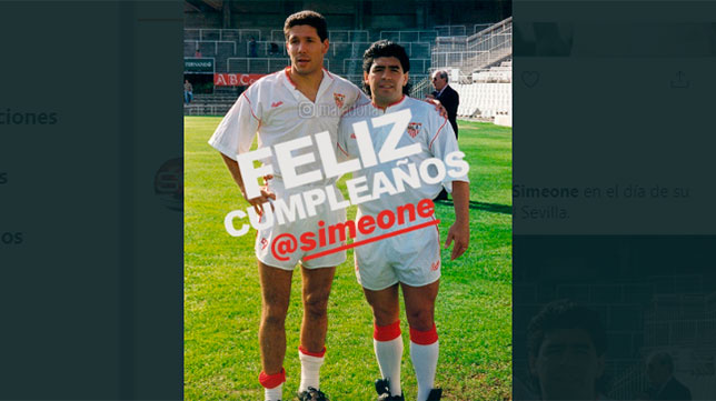 ¿Cuánto mide Diego Pablo Simeone? - Altura - Real height Marado10