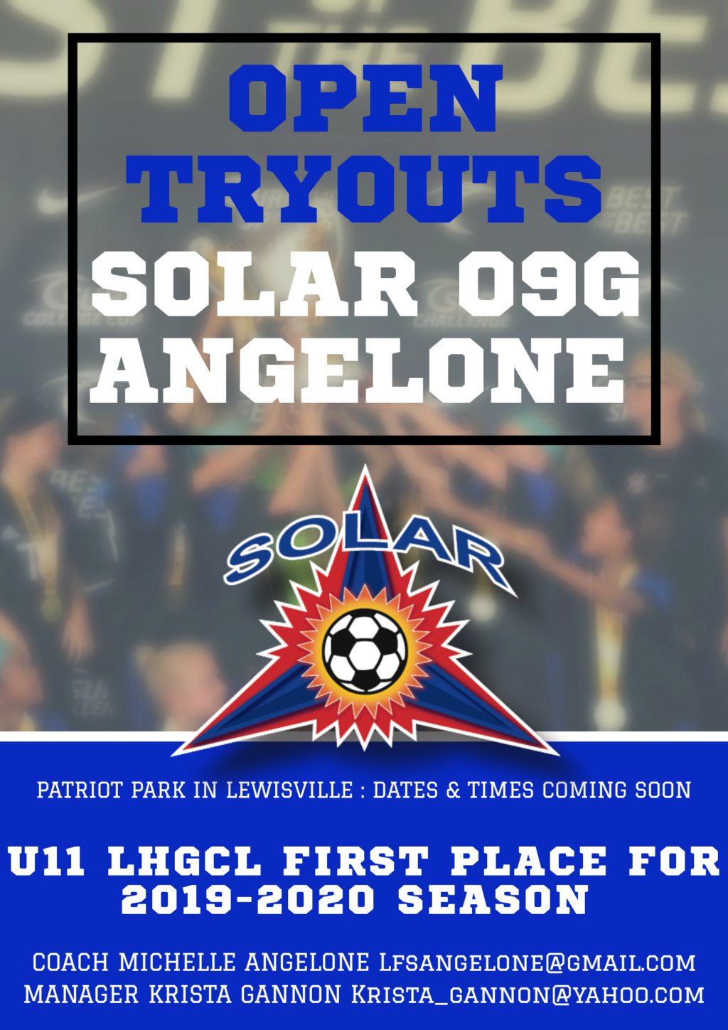 Solar 09G Angelone tryouts 4f9cb810