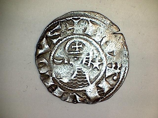 Dinero de Bohemundo III. Principado de Antioquía (1163-1201).  21050510