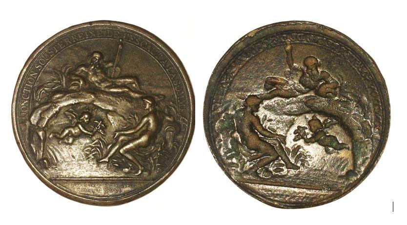Médaille Bronze 1785 canal de Picardie Mzodai10