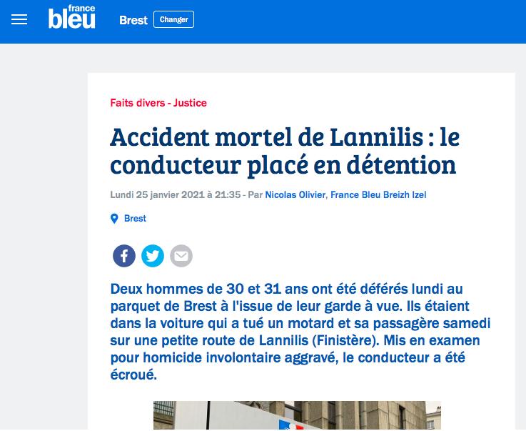 Deux motards tués vers Brest Captur11