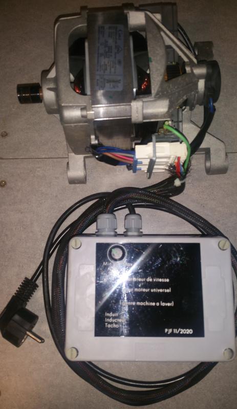 Variateur pour moteur de machine a laver Cablag11