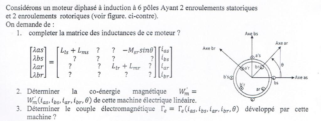 je besoin la solution de cet exercice Machine Machin11