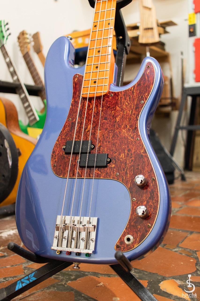 Reforma de Precision Bass feita pela IS Luteria de Curitiba   B110