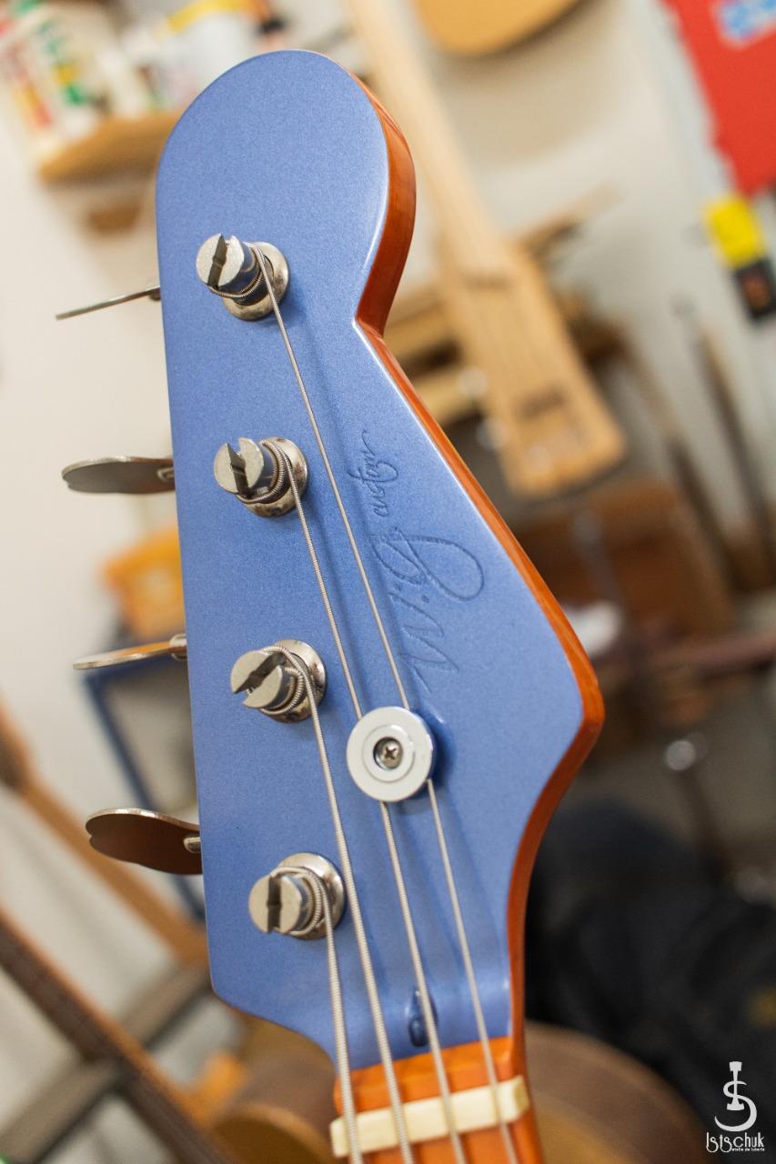 Reforma de Precision Bass feita pela IS Luteria de Curitiba   B310
