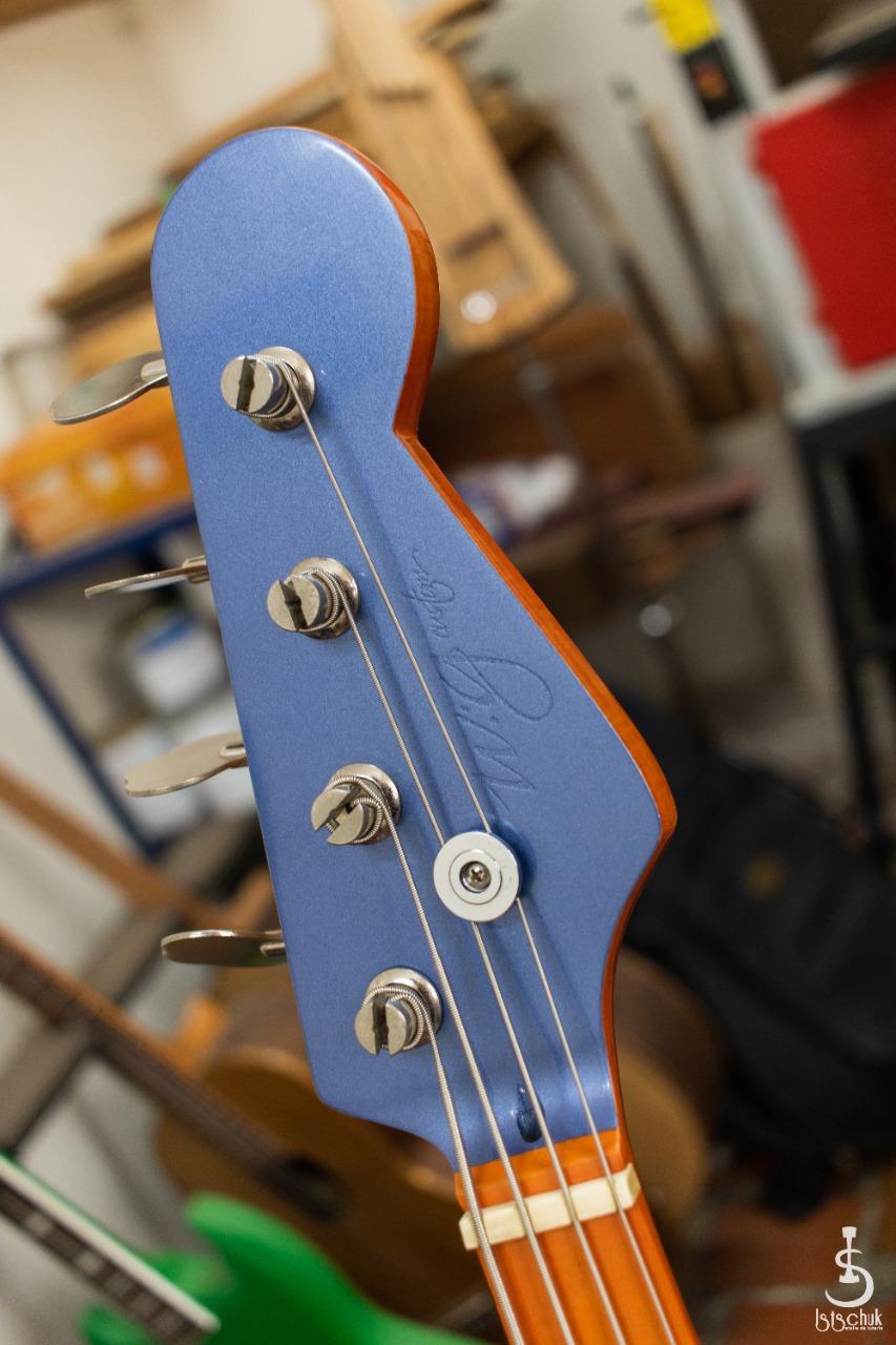 Reforma de Precision Bass feita pela IS Luteria de Curitiba   B410