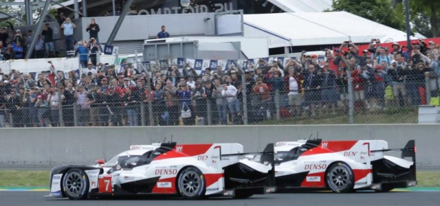 News WEC & Le Mans ... 2 - Page 32 Toyota10