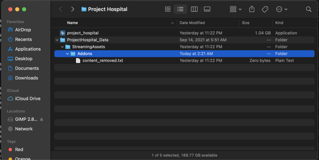 Have trouble finding mod files on mac Screen10