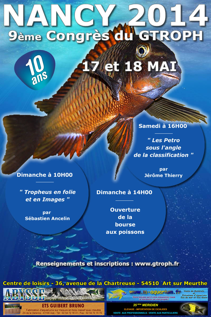 9ème congtrès du Gtroph 7 et 18 mai 2014 Affich20