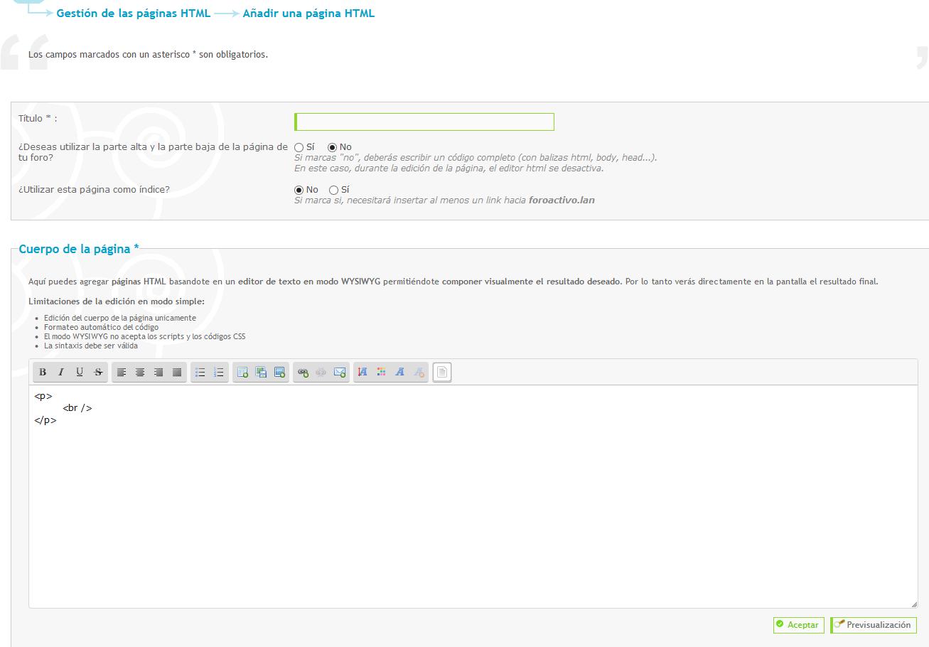 ACTUALIZACION DEL EDITOR DE PAGINAS HTML Captur16