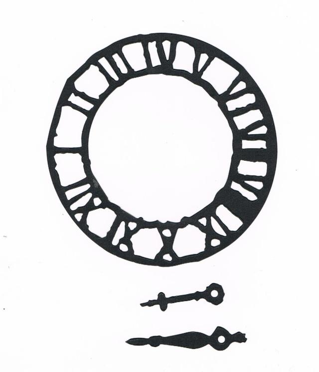 Horloge Tim Holtz Horlog10