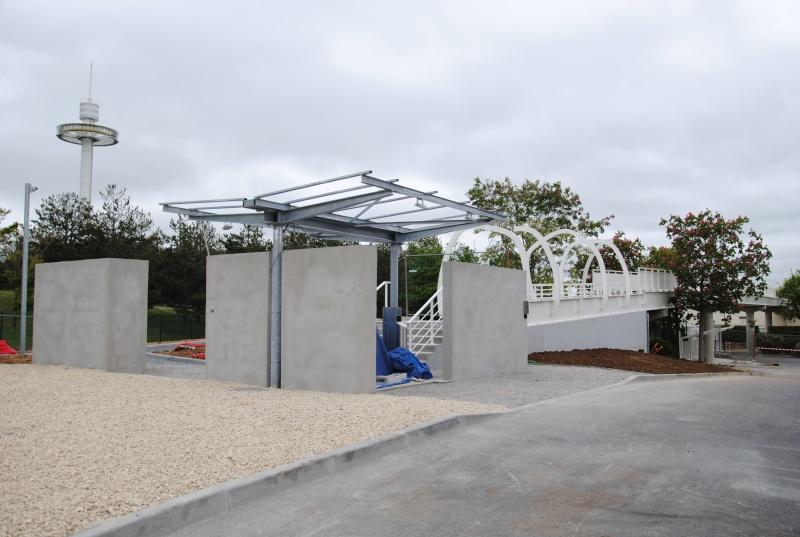 Nouvelle passerelle d'accès Parc - Hôtel du Futuroscope - Page 3 Dsc_0912