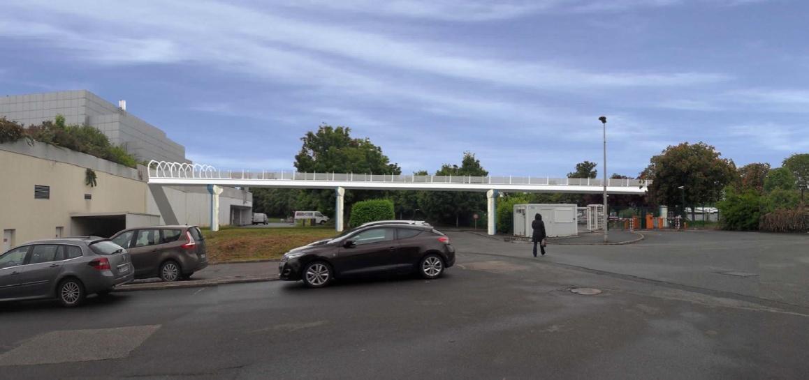 Nouvelle passerelle d'accès Parc - Hôtel du Futuroscope - Page 2 Passer11