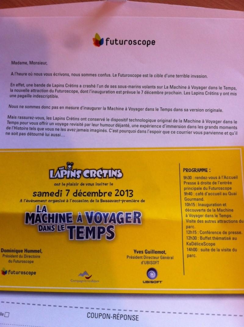 La Machine à voyager dans le temps (les Lapins Crétins) · décembre 2013 - Page 22 Photo_12