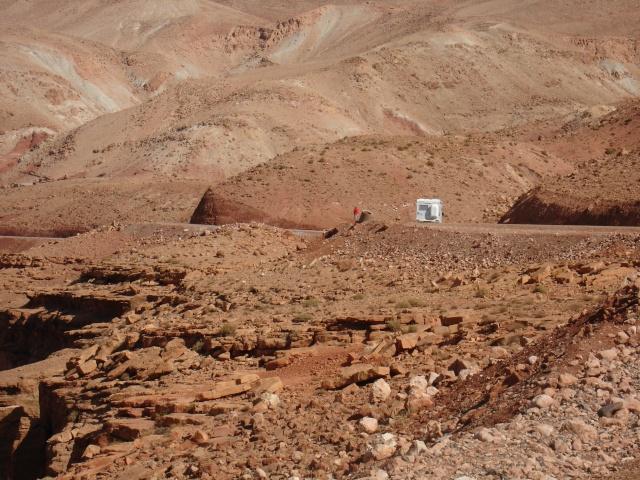 route de Telouet à Aït Ben Haddou Teloue10