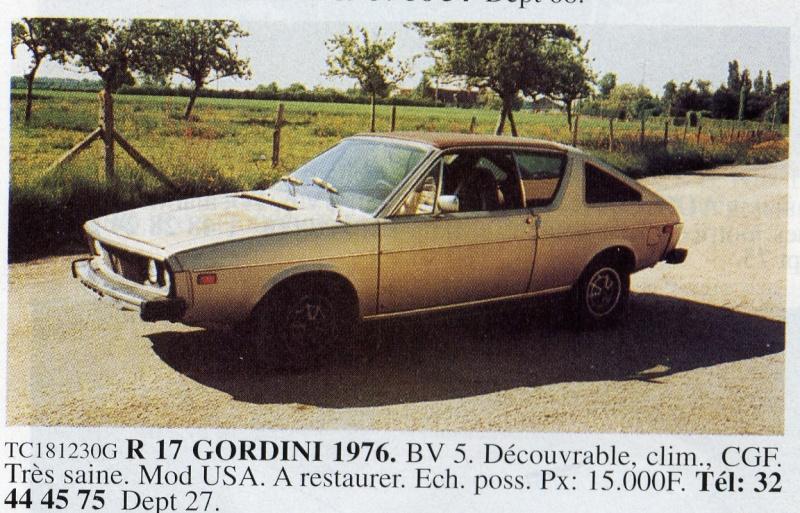 Renault 15 & 17 exotiques (US et autres) Ocr00910
